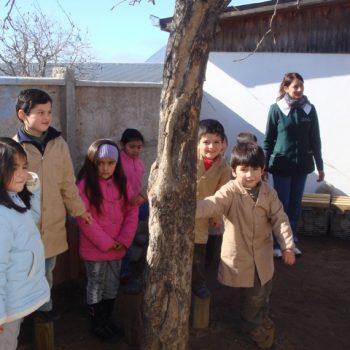 Niños de la Escuela Octavio Palma
