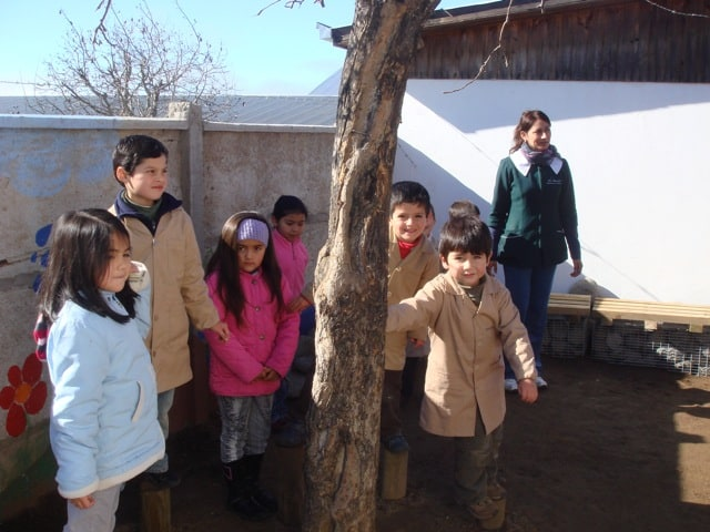 Kids of Octavio Palma Pérez School