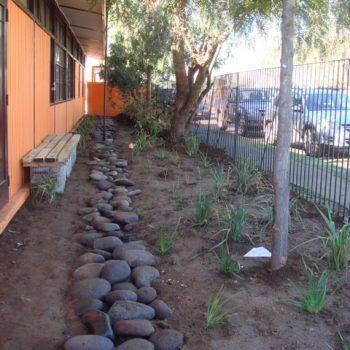Los espacios fueron remodelados con árboles, plantas y el uso de materiales naturales