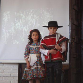 Presentación de baile en la inauguración
