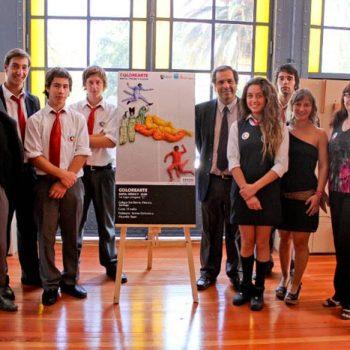 La obra ganadora categoría C, creada por alumnos del colegio San Benito