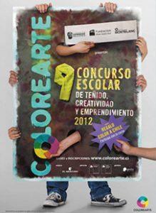 Afiche Colorearte 2012