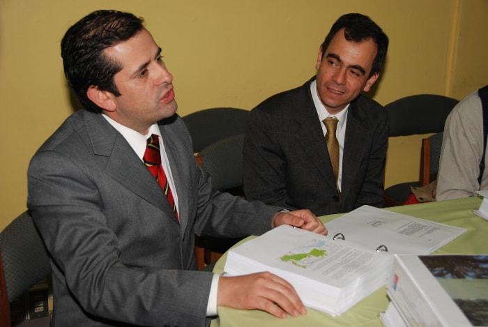 Eduardo Rodríguez and Roberto Peralta