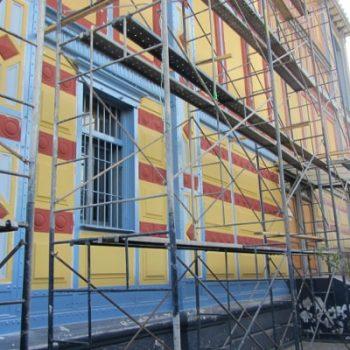 Las obras de restauración se realizaron en cuatro meses