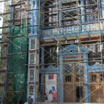 Tras 116 años de vida en excelente estado, el terremoto destruyó varias piezas de la estructura