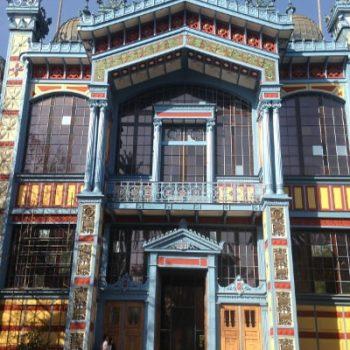 La fachada del museo restaurada