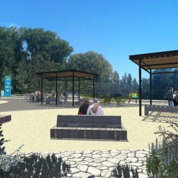 Área 'mirador' del parque
