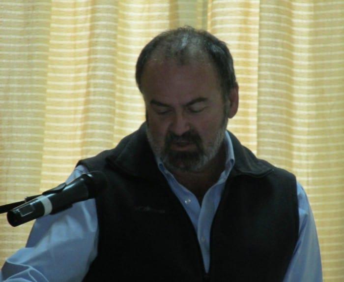 Brent Mitchell, Presidente de la  George Wright Society  y Vice-presidente de QLF Atlantic Center for the Environment