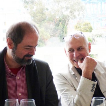 Charles Zucker y Juan Villoro