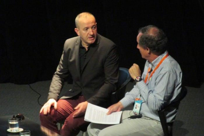 En la charla del escritor y guionista francés, Philippe Claudel