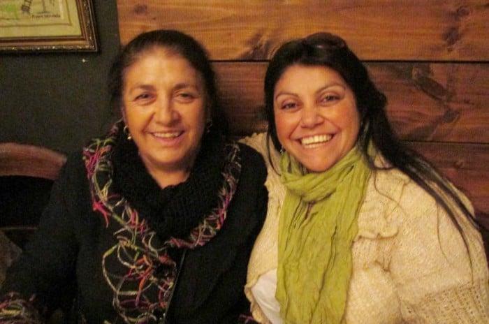 Las profesoras de Calama, Idolia Vásquez y Alejandra Santana