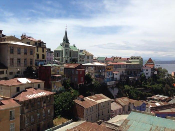 Valparaíso desde el Cerro Alegre