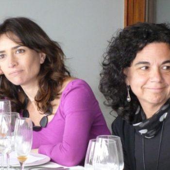 Las docentes de la Universidad Alberto Hurtado, Pilar Santelices y Lilian Bravo