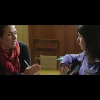 A la Izquierda, Rafaela Landea, Directora de Centro MERI