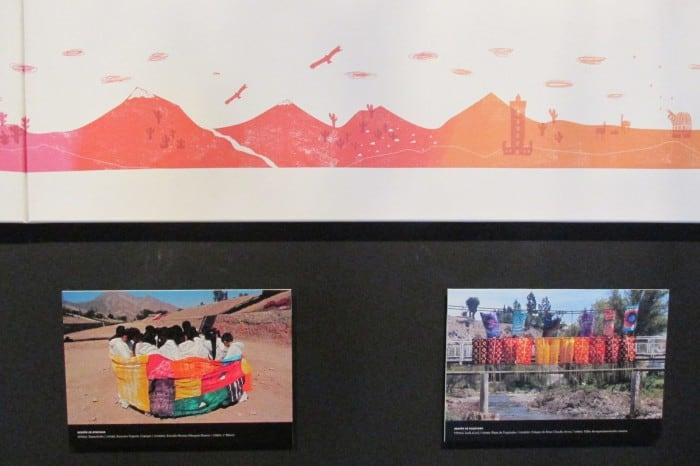 De izquierda a derecha las obras: Samancha (Copiapó) y Camino al cambio (Vallenar)
