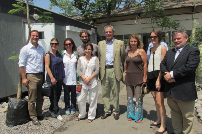 Fundación Mar Adentro junto a Fundación Inspira y autoridades del Hospital Salvador
