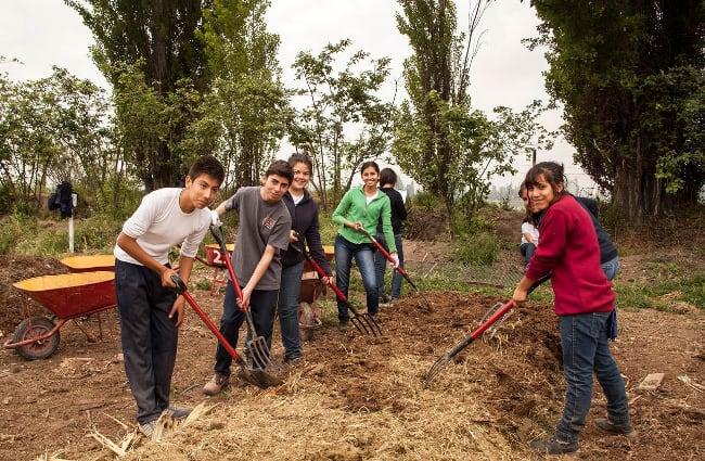 El sentido de comunidad y trabajo en equipo es fundamental