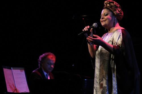 La cantante de bossanova, Fabiana Cozza