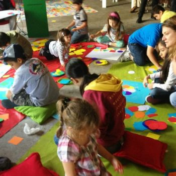 Proceso creativo con los niños