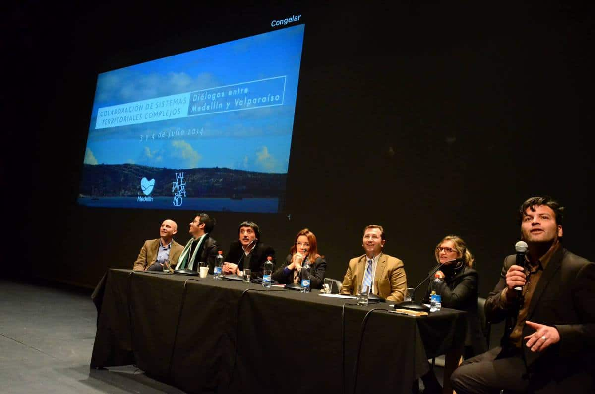 Expert panel on: Dialogues between Medellin and Valparaíso