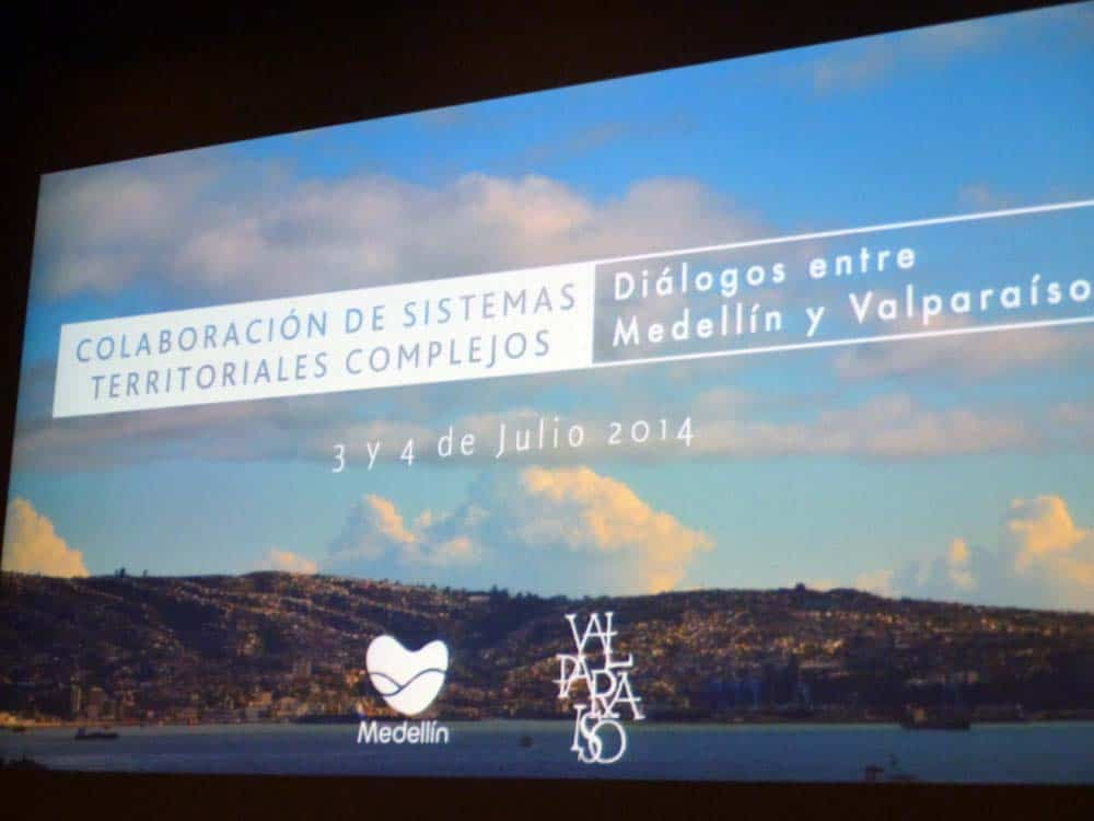 Colaboración entre sistemas territoriales complejos, diálogos entre Medellín y Valparaíso