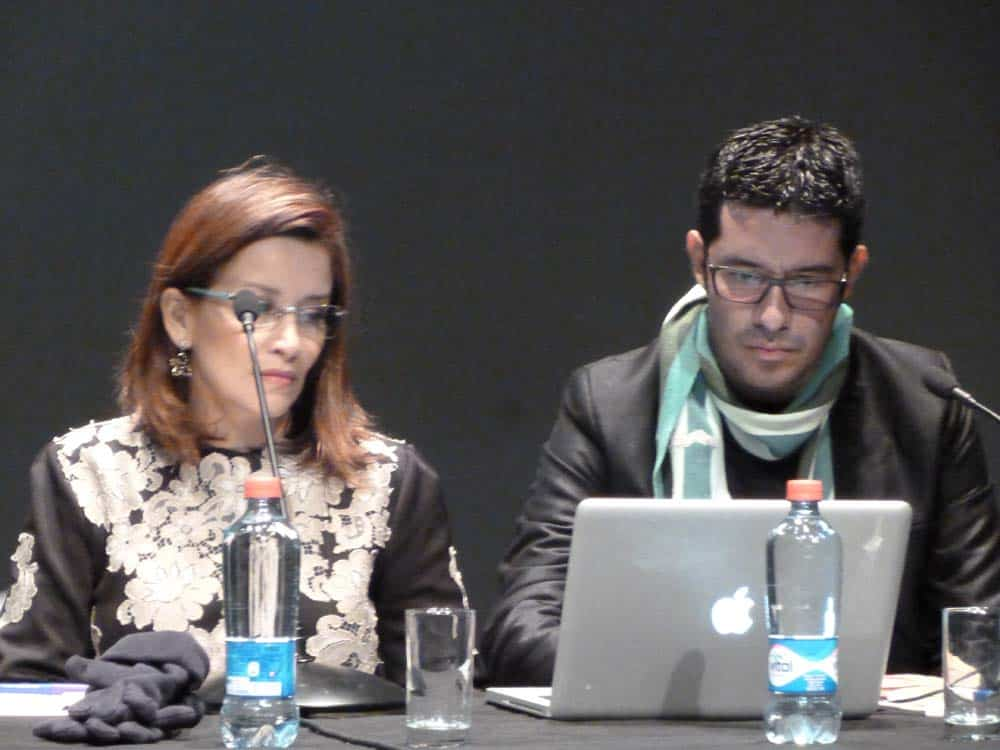 Colombian architects Beatriz Rave and Oscar Santana