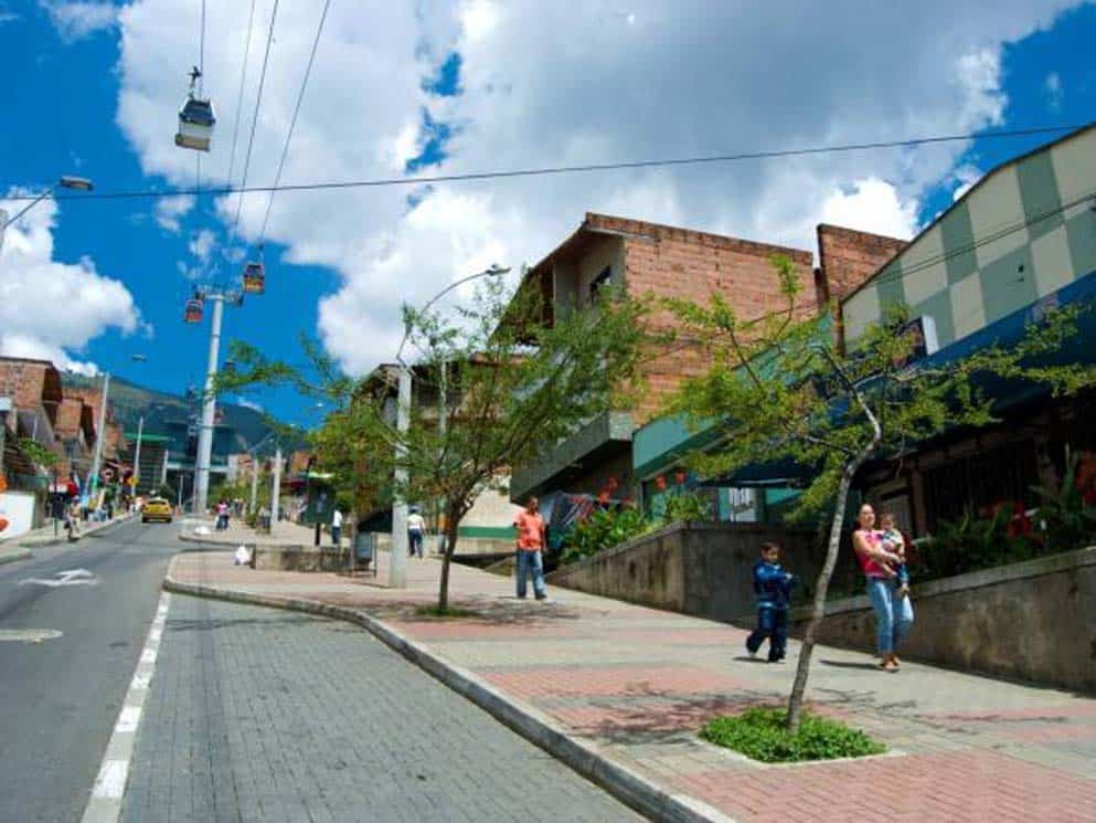 Paseo Urbano Andalucia, Medellín Colombia