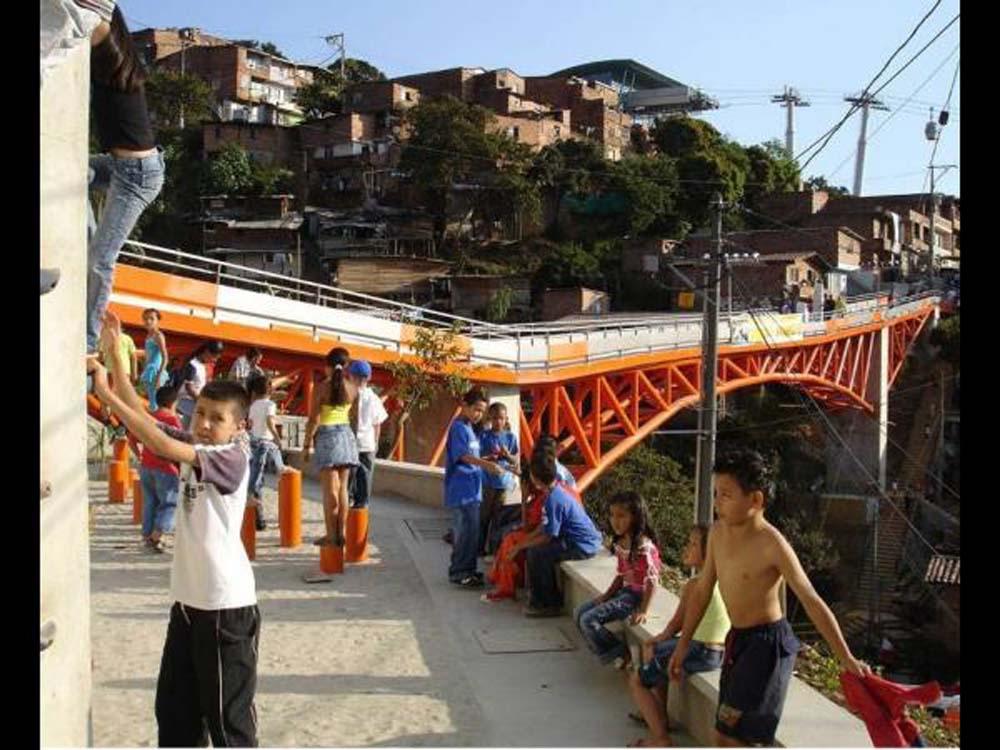 Mirador Bridge, Medellín -Colombia