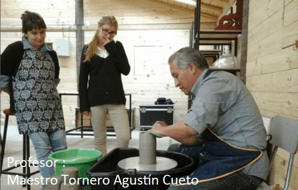 Profesor Agustín Cueto - Escuela de Cerámica