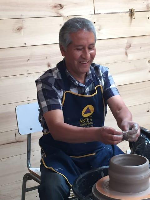 Professor Agustín Cueto - School of Ceramics