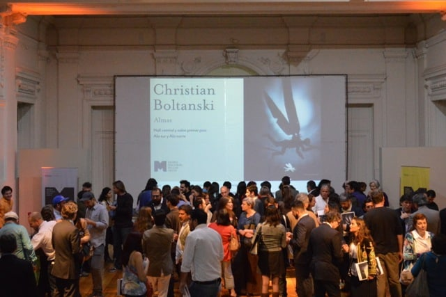 Inauguración en el Museo Nacional de Bellas Artes