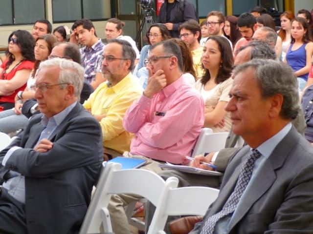 Público asistente a la conferencia