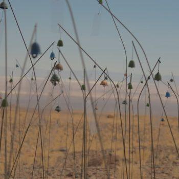 Animitas de Christian Boltanski, fotografía de Pedro Valenzuela