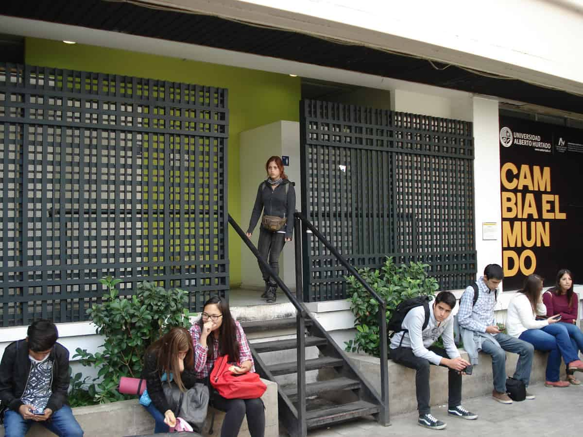 Restoration works on facades and campus courtyards