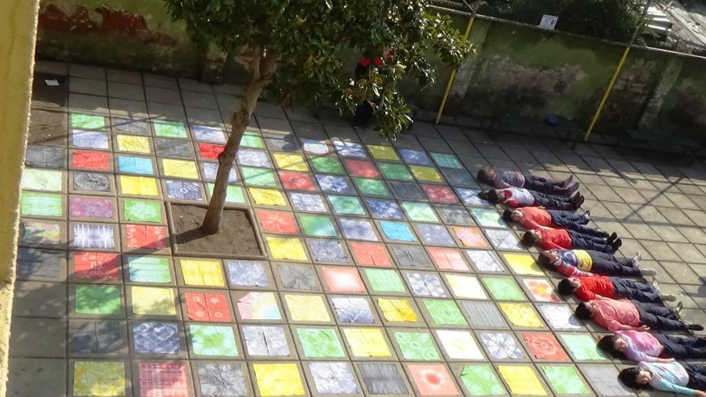 Ganador Categoría B: Compartiendo Colores de Alegría - The New School, Macul