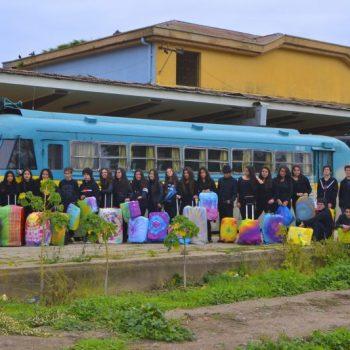 Premio Espíritu Colorearte Categoría B: Esperando el Último Ramal - Colegio Bosques de Gaia, Constitución
