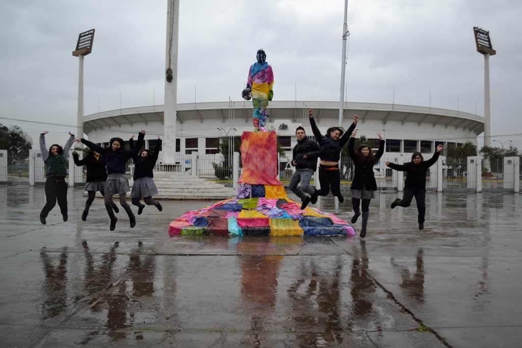 Premio Espíritu Colorearte Categoría C: Colores, Pasiones, Encuentro y Recuerdo - Liceo Eugenio María de Hostos, La Reina