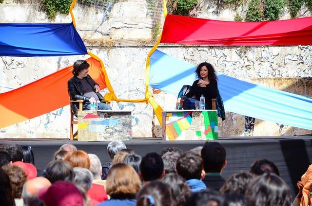 Leila Guerreiro at Puerto de Ideas 2014