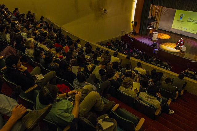 Audience at Puerto de Ideas 2014