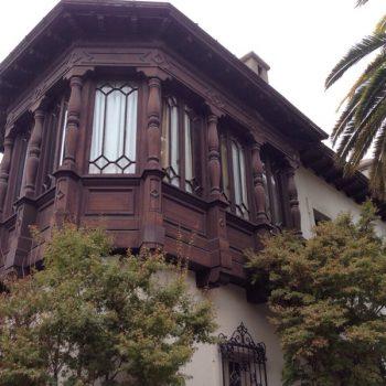 Trabajos de restauración de las fachadas
