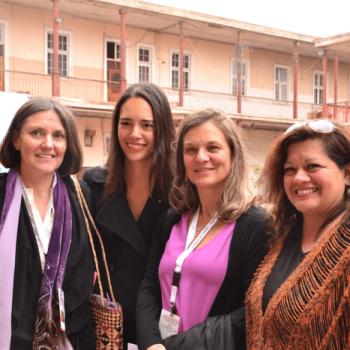 Beatriz Bustos, Mahani Teave, Madeline Hurtado, Isabel Rocco
