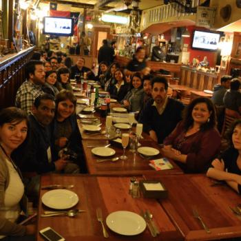 Profesores becados compartiendo en Puerto de Ideas