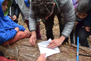 Fieldwork research with the students