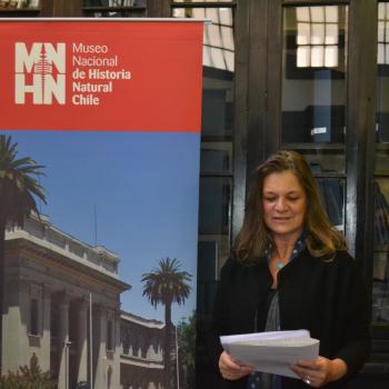 Madeline Hurtado, presidenta FMA dice unas palabras