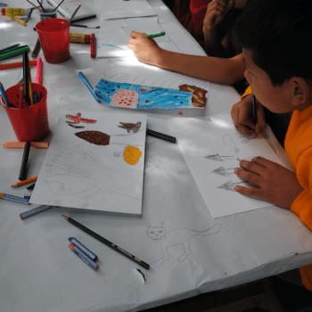 Talleres realizados en escuelas locales