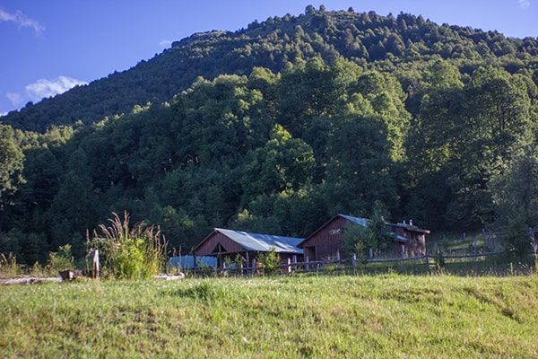 Bosque Pehuén facilities ©Andrés Bucci.