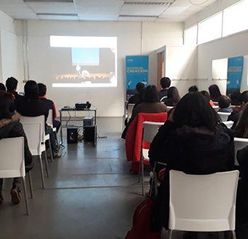 Streaming en el Centro CECREA de Temuco.