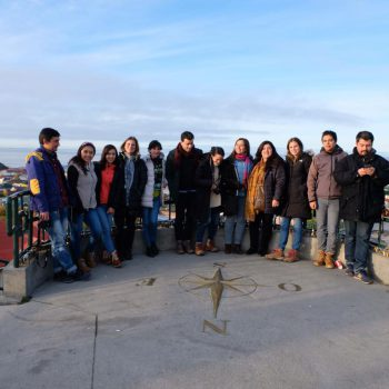 The 2019 Active Teachers group visiting the city of Punta Arenas