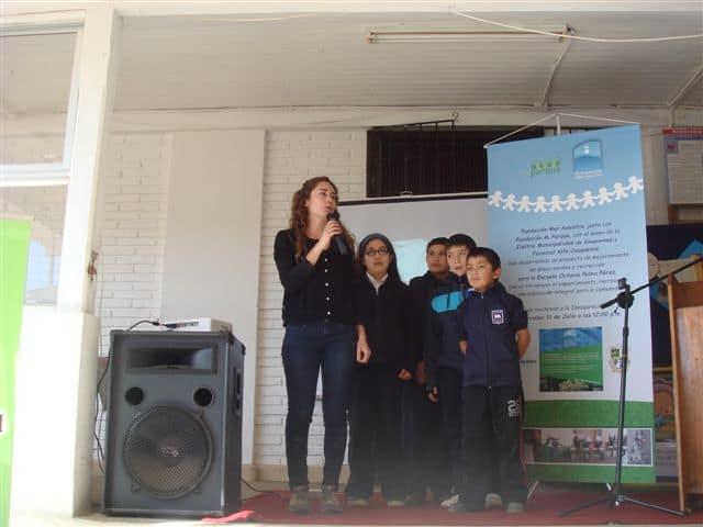 Josefa Morales, from Fundación Mi Parque