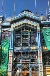 Museo Artequín durante proceso de restauración